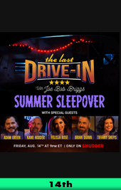 the last drive in summer sleepover