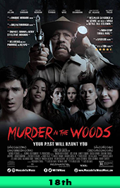 murder in the woods movie poster vod
