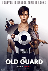 the old guard movie poster vod