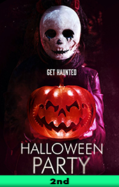 halloween party movie poster vod