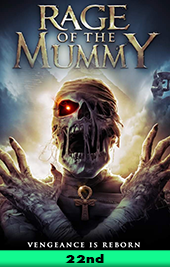 rage of the mummy movie poster vod