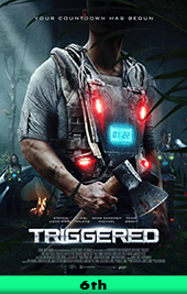 triggered movie poster vod
