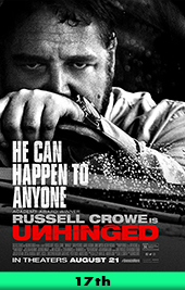 unhinged movie poster vod