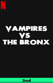 vampires vs the bronx movie poster vod