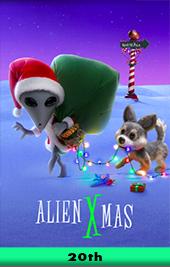 alien xmas movie poster vod