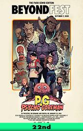 psycho goreman movie poster vod