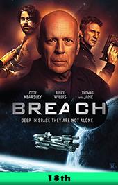 breach movie poster vod