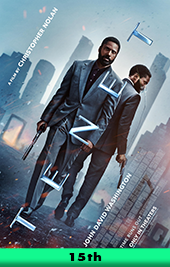 tenet movie poster vod