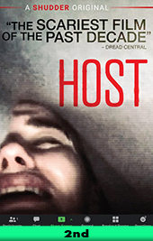 host movie poster vod