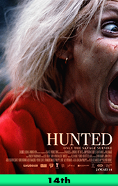 hunted movie poster vod shudder