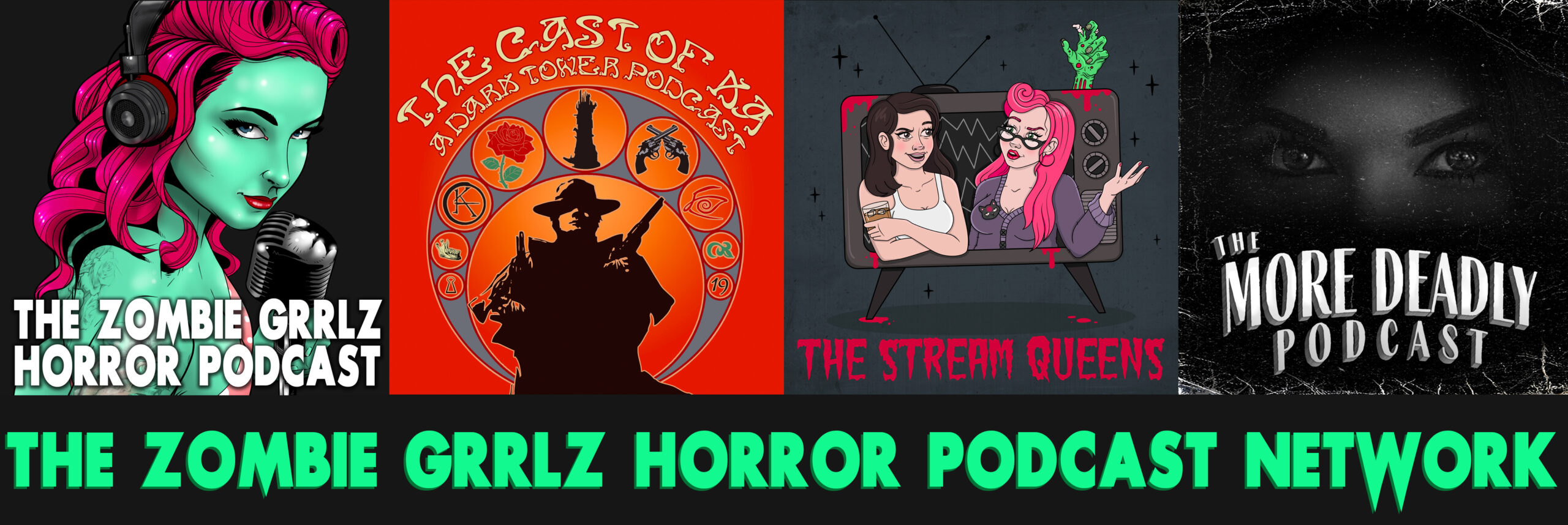 The Zombie Grrlz Horror Podcast