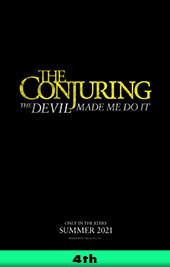 conjuring 3 movie poster vod