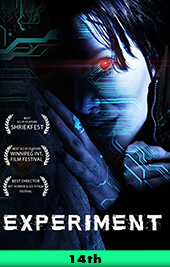 experiment movie poster vod