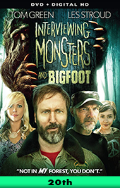 interviewing monsters and bigfoot movie poster vod