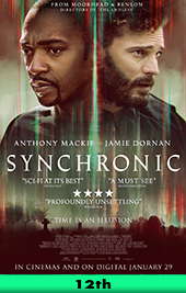 synchronic movie poster vod