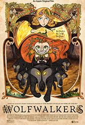 wolfwalkers movie poster vod