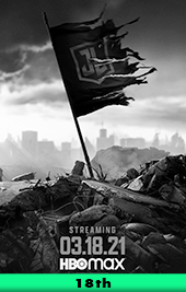 zach snyders justice league movie poster vod