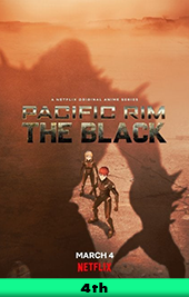 pacific rim the black movie poster vod