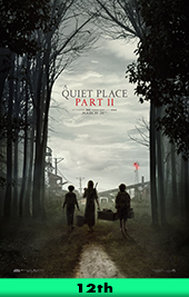 a quiet place II movie poster vod hbo max