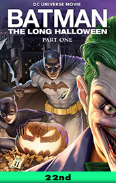 batman long halloween movie poster vod