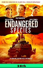 endangered species movie poster vod