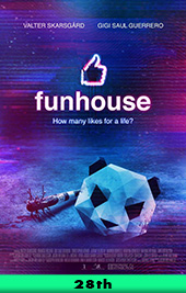 funhouse movie poster vod