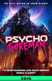 psycho goreman movie poster vod