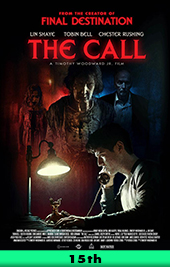 the call movie poster vod