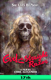 girl with a straight razor movie poster vod