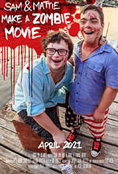 sam & mattie make a zombie movie movie poster vod