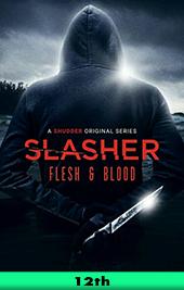 slasher flesh and blood shudder movie poster vod