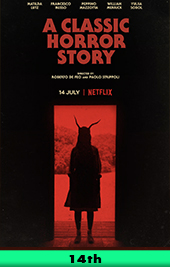 a classic horror story movie poster vod