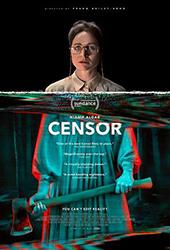 censor movie poster vod