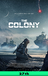 the colony movie poster vod