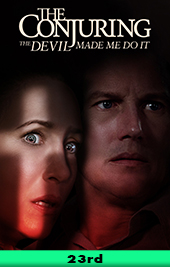 conjuring the devil made me do it movie poster vod