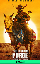 the forever purge movie poster vod