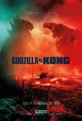 Godzilla vs Kong movie poster vod