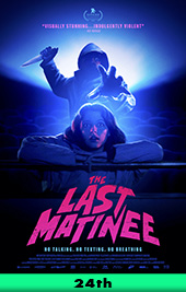 the last matinee movie poster vod