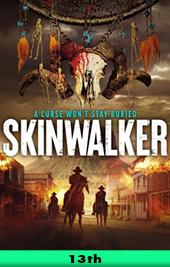 skinwalker movie poster vod