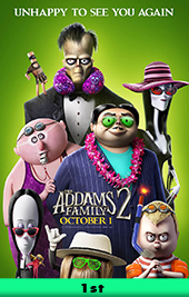 the addams family 2 movie poster vod