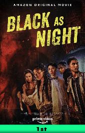 black as night movie poster vod