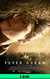 fever dream movie poster vod netflix