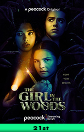 the girl in the woods movie poster vod