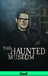 the haunted museum movie poster vod discovery+