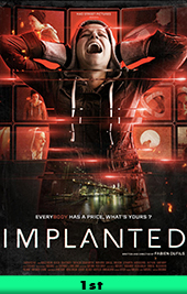 implanted movie poster vod