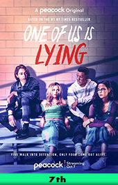 one of us is lying movie poster vod peacock