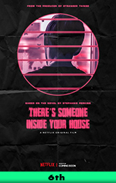 there's someone inside your house movie poster vod netflix