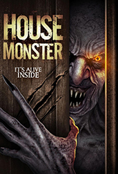 House Monster movie poster vod