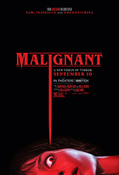Malignant HBO MAX movie poster vod