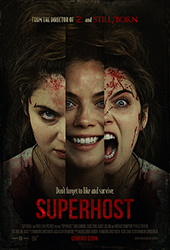 Superhost movie poster vod